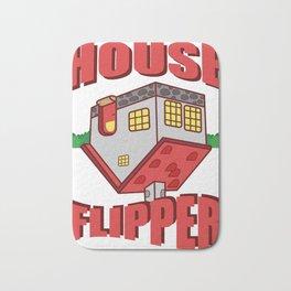 House Flipper Funny Realtor Or House Flipper Gift Bath Mat