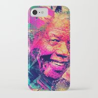 mandela iPhone & iPod Cases featuring Mandela by Alexandre Perotto