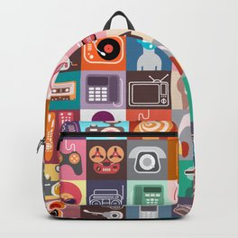 Clip Art Collage Backpack