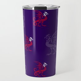 Myths & monsters: basilisk Travel Mug