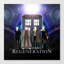 The Doctor Of Regeneration Canvas Print