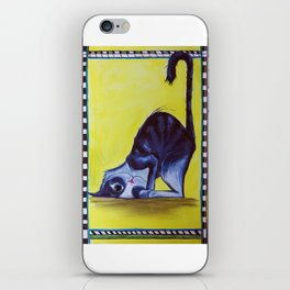 Cute cat iPhone Skin
