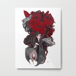 Seven Deadly Sins 'Wrath' Metal Print