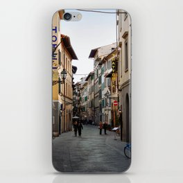 Via Faenza - Florence, Italy iPhone Skin
