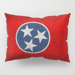 Tennessee State flag, Vintage version Pillow Sham