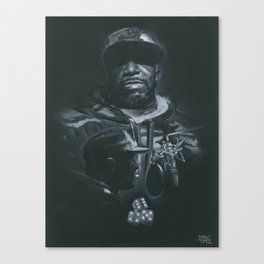 4 5 6 Canvas Print
