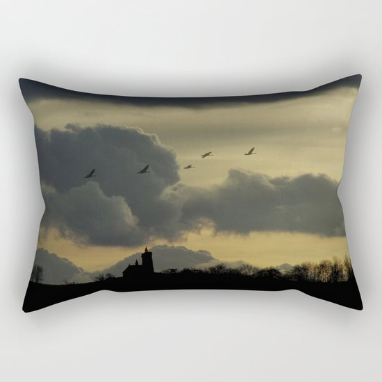Dark idyll Rectangular Pillow