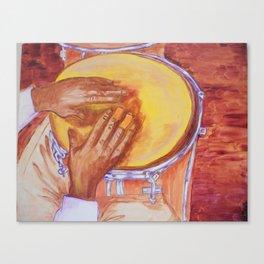 Hands of Mongo Santamaria Canvas Print