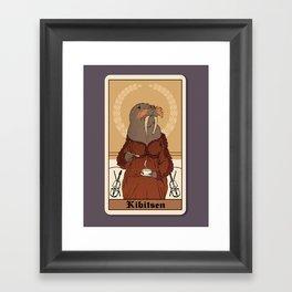 Gossip, Tea & Sympathy Framed Art Print