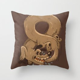 Chase Your Tail Forever Throw Pillow