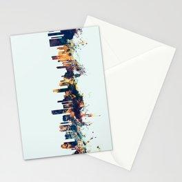 Honolulu Hawaii Skyline Stationery Cards