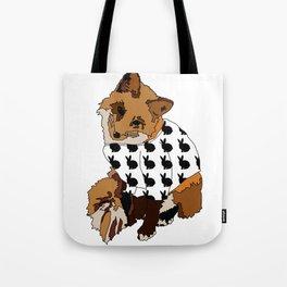 Un renard qui aime les lapins Tote Bag