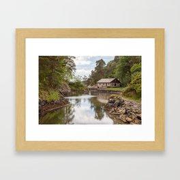 A peaceful scene Framed Art Print