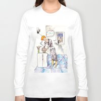 chef Long Sleeve T-shirts featuring petit chef by bgallery