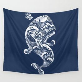 The White Whale  Wall Tapestry
