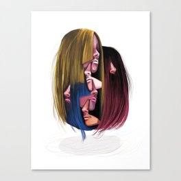 Not A Shampoo Commercial Canvas Print