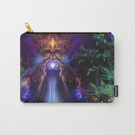 Ancient Infinite - Fractal Manipulation Carry-All Pouch