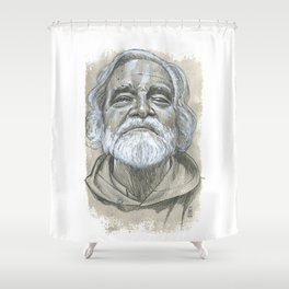 JL the Grand Master Shower Curtain