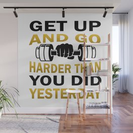 Get Up And Go Wall Mural