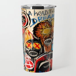 Head full of dreams Travel Mug