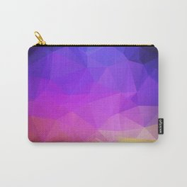 Abstract polygonal print, stylish geometry Carry-All Pouch