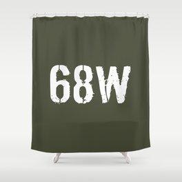 68W Combat Medic Specialist Shower Curtain