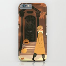 Fall in New York iPhone Case
