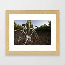 Perfect Bike Framed Art Print