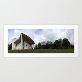 Chapelle Notre-Dame-du-Haut | Le Corbusier Art Print