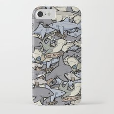 Save ALL Sharks! iPhone 7 Slim Case