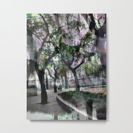 trees climb, too, downwards (1) Metal Print