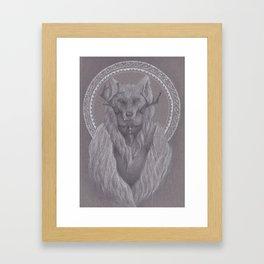 The Shaman Bastard Framed Art Print