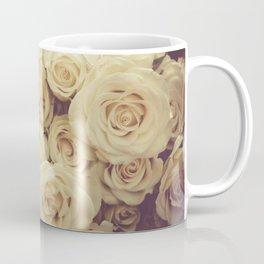 White Roses Coffee Mug