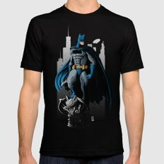 BAT MAN SMALL Black Mens Fitted Tee