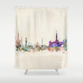 glasgow scotland Shower Curtain