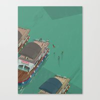 indonesia Canvas Prints featuring Toba - Indonesia by Joneta Witabora