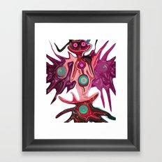 The Visioner Of Idea Framed Art Print
