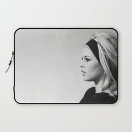 Brigitte Bardot , Vintage French Actress , Poster, Style print , home decor, classic french model, Fashion photography Laptop Sleeve