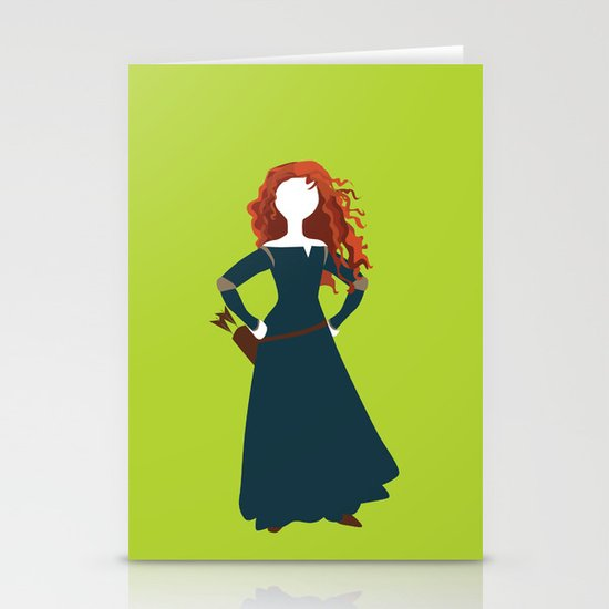 Merida from the Brave Stationery Cards