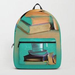 Books, coffee, my favorite things Backpack