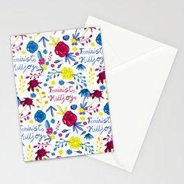 Bright Feminist Killjoy Print Stationery Cards
