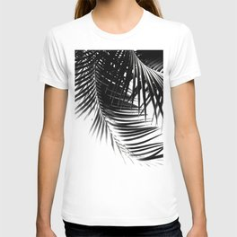 Palm Leaves Black & White Vibes #1 #tropical #decor #art #society6 T-shirt