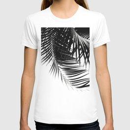 Palm Leaves Black & White Vibes #1 #tropical #decor #art #society6 T-shirt