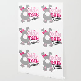 Cotton Tail Cutie Wallpaper