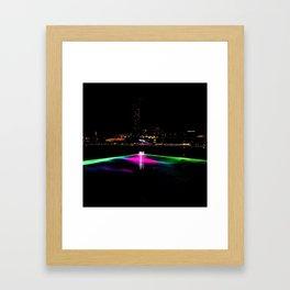 Colorful Waves Framed Art Print
