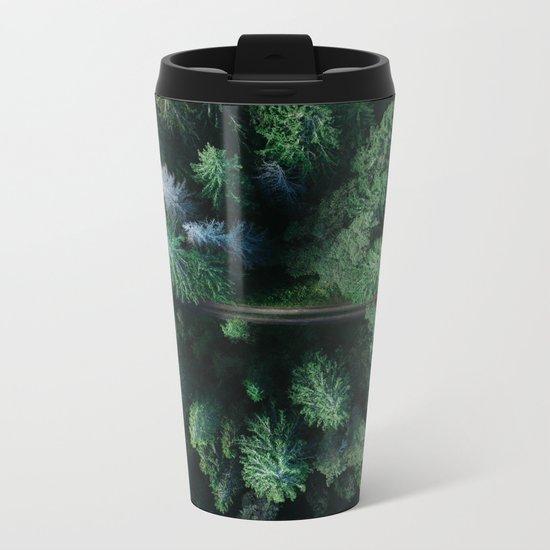 Woods #sky Metal Travel Mug