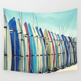 California surfboards Wall Tapestry
