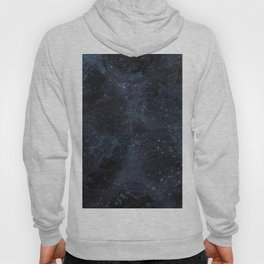 Antique World Star Map Navy Blue Hoody