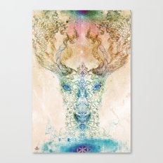 Medicina Cosmic Shoko - Light DeerTree Canvas Print