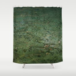 Best wishes at Fontana di Trevi Shower Curtain